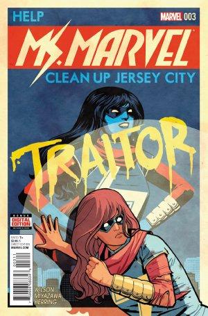 Ms. Marvel # 3 Issues V4 (2015 - 2019)