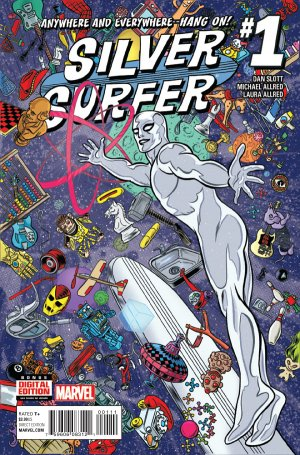 Silver Surfer édition Issues V8 (2016 - 2017)