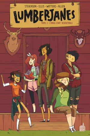 Lumberjanes édition TPB softcover (souple)