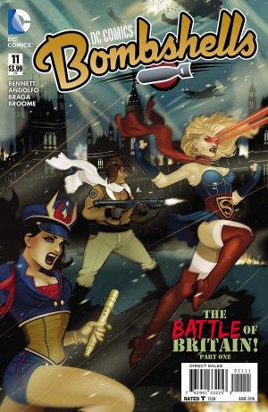 DC Comics Bombshells # 11 Issues