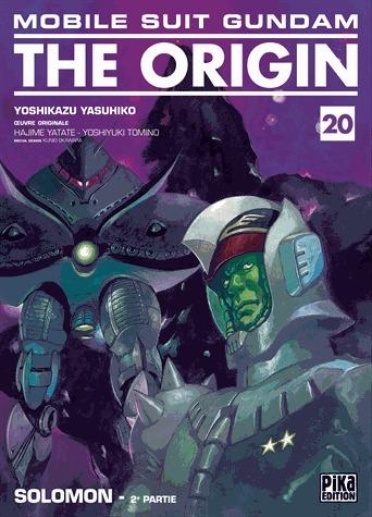 couverture, jaquette Mobile Suit Gundam - The Origin 20  (Pika)