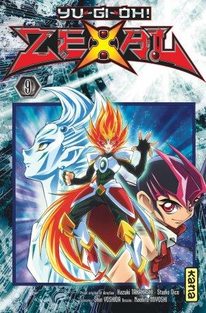 couverture, jaquette Yu-Gi-Oh! Zexal 9  (kana) Manga