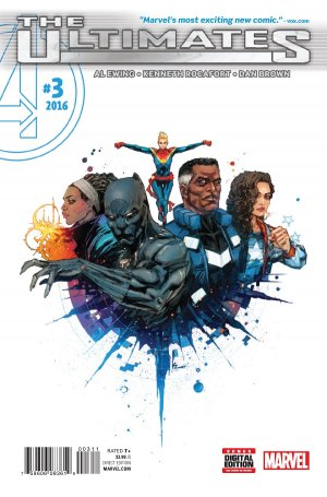 Ultimates # 3 Issues V2 (2015 - 2016)