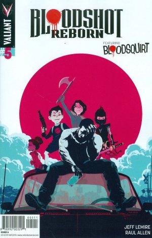Bloodshot Reborn # 5 Issues (2015 - 2016)