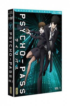 Psycho-Pass édition Combo DVD Blu-ray