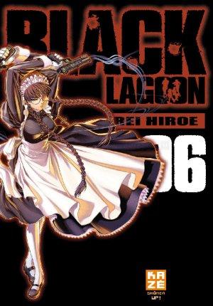 couverture, jaquette Black Lagoon 6 Française 2ème Edition (kazé manga)