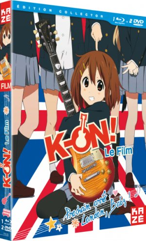 K-On! Movie édition Édition collector - 1 Blu-ray + 2 DVD