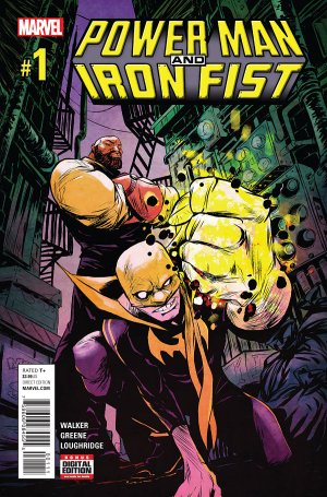 Power Man and Iron Fist # 1 Issues V3 (2016 - 2017)