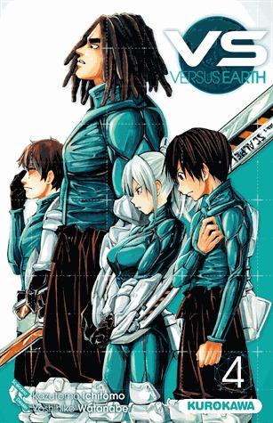 couverture, jaquette Vs Earth 4  (Kurokawa)