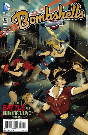 DC Comics Bombshells # 12 Issues