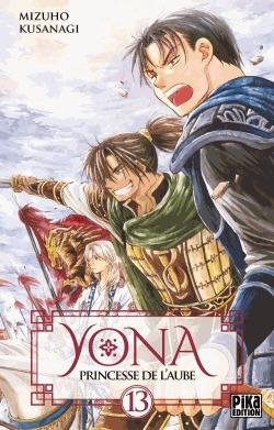 couverture, jaquette Yona, Princesse de l'aube 13  (Pika)