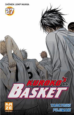 couverture, jaquette Kuroko's Basket 27  (kazé manga)