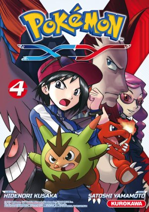 couverture, jaquette Pokémon XY 4  (Kurokawa)