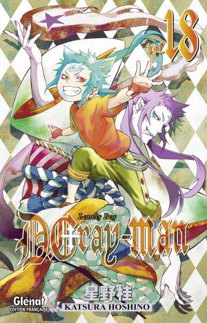 couverture, jaquette D.Gray-Man  18 Édition originale (Glénat Manga)