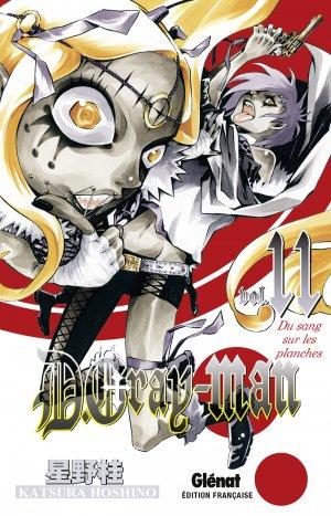 couverture, jaquette D.Gray-Man  11 Édition originale (Glénat Manga)