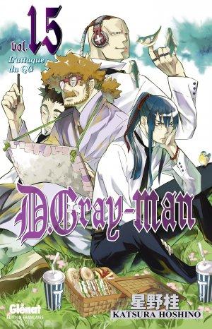 couverture, jaquette D.Gray-Man  15 Édition originale (Glénat Manga)