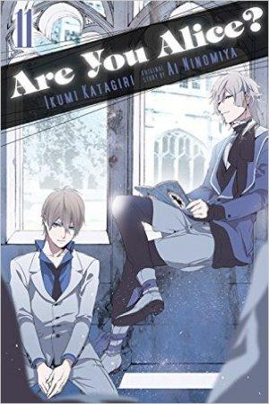 couverture, jaquette Are You Alice? 11 Américaine (Yen Press)