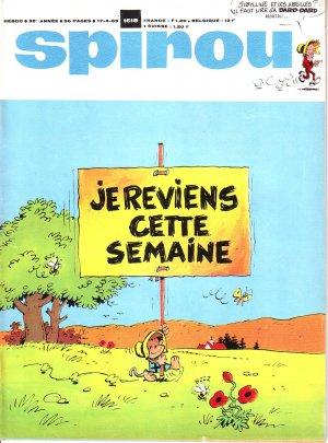 Le journal de Spirou # 1618
