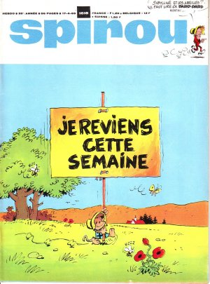 Album Spirou (recueil) # 1618