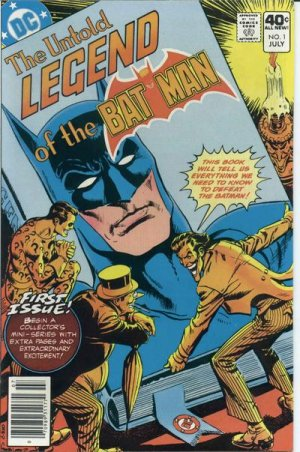 Untold Legend of the Batman # 1 Issues