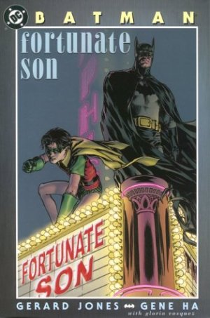 Batman - Fortunate Son édition TPB hardcover (cartonnée)