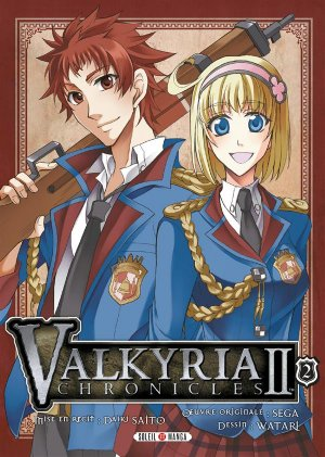 couverture, jaquette Valkyria chronicles II 2  (soleil manga)