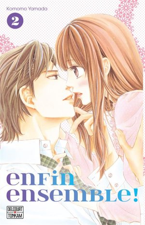 couverture, jaquette Enfin ensemble 2  (Delcourt Manga)