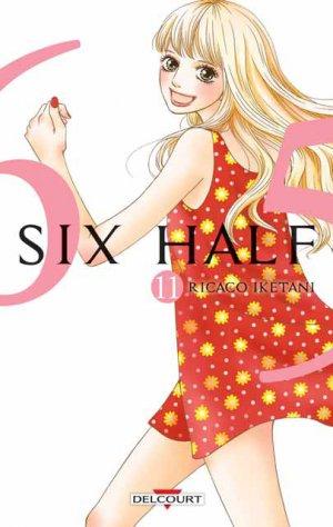 couverture, jaquette Six Half 11  (Delcourt Manga)