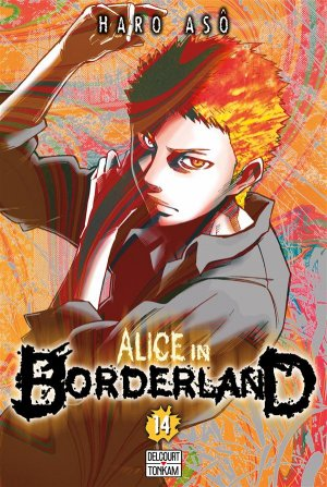 couverture, jaquette Alice in Borderland 14  (Delcourt Manga)