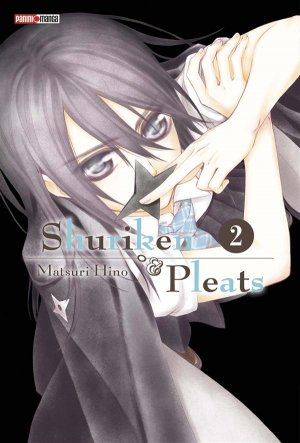 couverture, jaquette Shuriken & Pleats 2  (Panini manga)