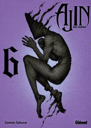 couverture, jaquette Ajin 6  (Glénat Manga) Manga