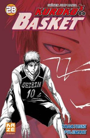 couverture, jaquette Kuroko's Basket 28  (kazé manga)