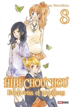 couverture, jaquette Hibi Chouchou - Edelweiss et Papillons 8  (Panini manga)