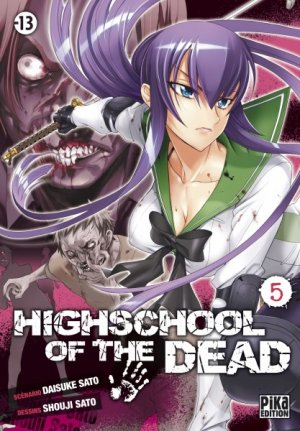 couverture, jaquette Highschool of the Dead 5  (Pika) Manga