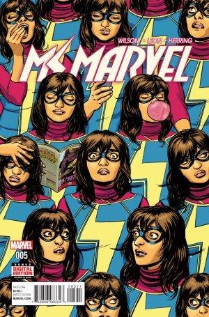 Ms. Marvel # 5 Issues V4 (2015 - 2019)