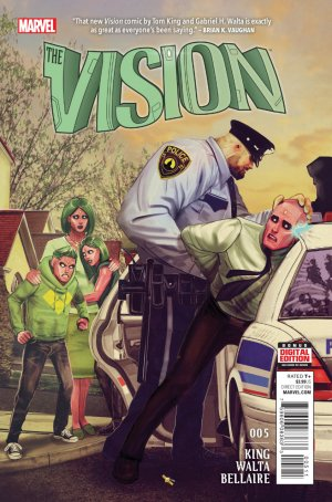 La Vision # 5 Issues V2 (2015 - 2016)