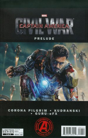 Marvel's Captain America - Civil War Prelude édition Issues