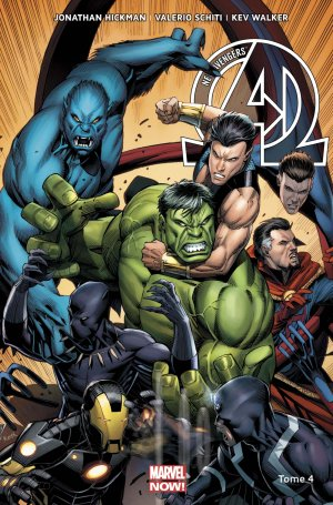 New Avengers # 4 TPB Hardcover - Marvel Now! - Issues V3