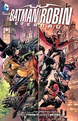 Batman and Robin Eternal édition TPB softcover (souple)