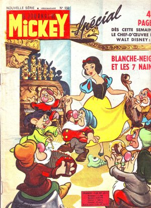 Le journal de Mickey 550