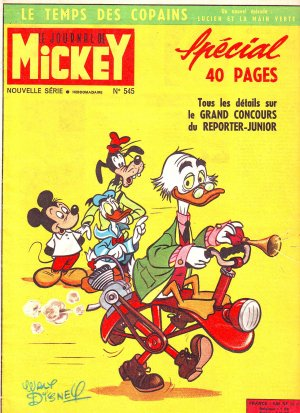 Le journal de Mickey 545