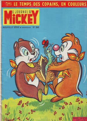 Le journal de Mickey 548