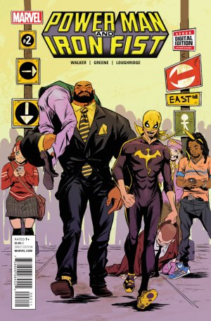 Power Man and Iron Fist # 2 Issues V3 (2016 - 2017)