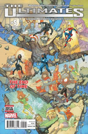 Ultimates # 5 Issues V2 (2015 - 2016)