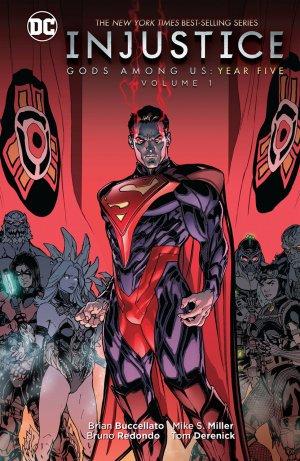 Injustice - Gods Among Us Year Five édition TPB hardcover (cartonnée)