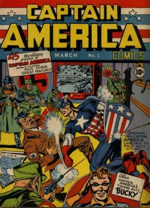 Captain America Comics # 1 Issues (1941 - 1954)