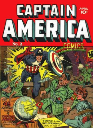 Captain America Comics # 2