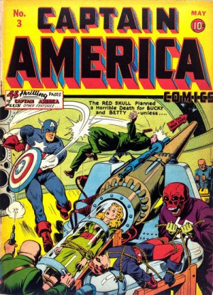 Captain America Comics # 3 Issues (1941 - 1954)