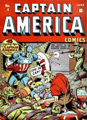Captain America Comics # 4 Issues (1941 - 1954)