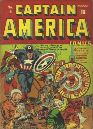 Captain America Comics # 5 Issues (1941 - 1954)